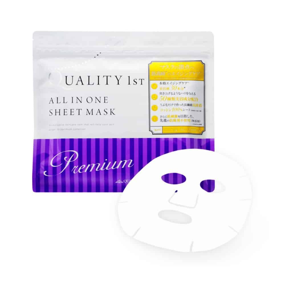Quality 1st All In One White Sheet Mask chong-lao-hoa