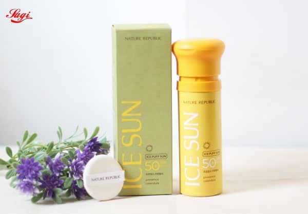 Kem chống nắng Nature Republic Ice Puff Sun