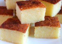 Bánh khoai mỳ thơm ngon béo ngậy là sự lựa chọn không tồi cho các bà mẹ