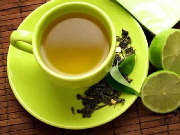 Giảm cân an toàn bằng nước trà xanh và chanh