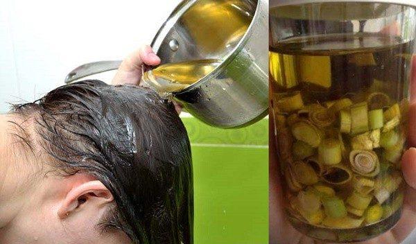Mẹo điều trị rụng tóc bằng sả