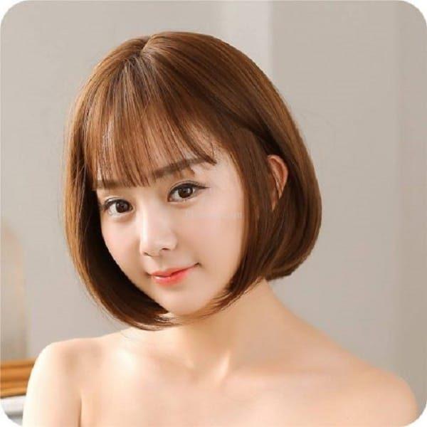 Tóc ngắn mái ngố sole