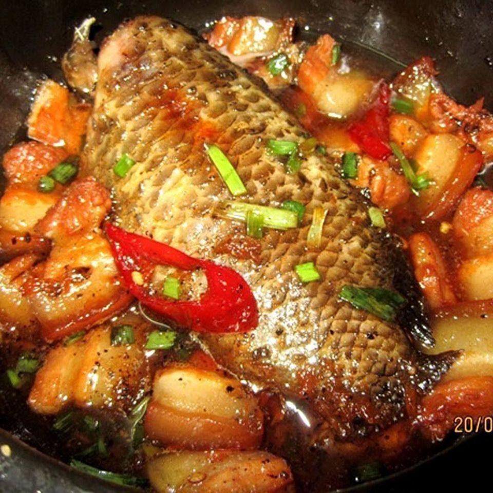 Cá rô thịt ba chỉ
