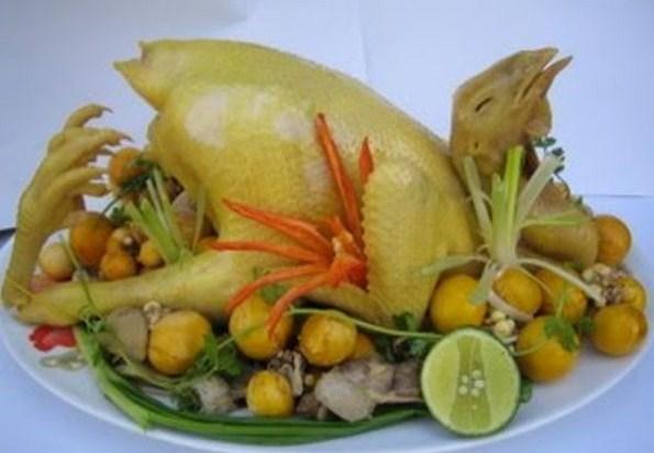 Cách buộc gà cúng đẹp kiểu gà quỳ
