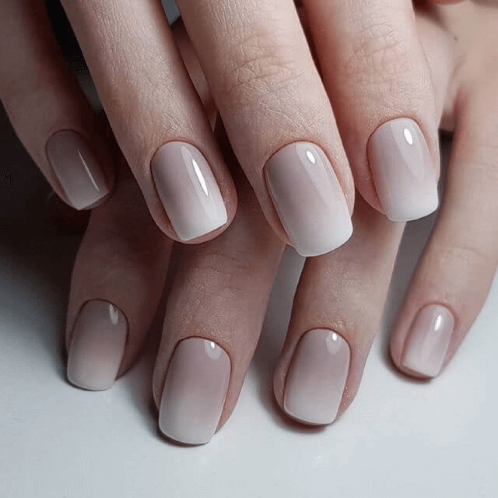 phong cach nail ombre