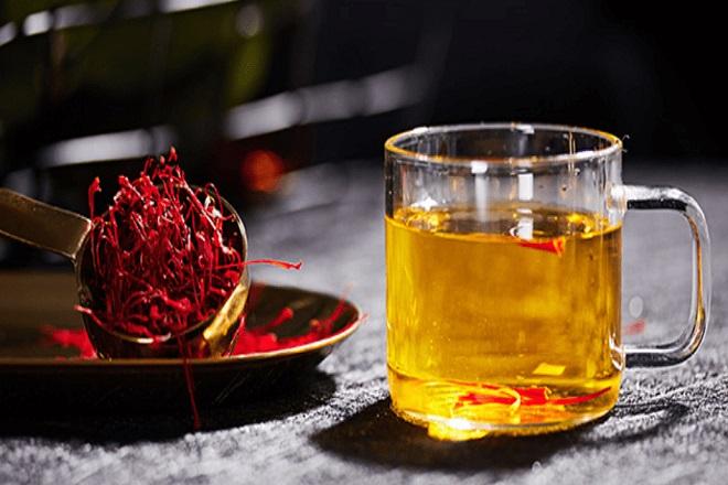 Saffron dùng để uống và làm trắng da