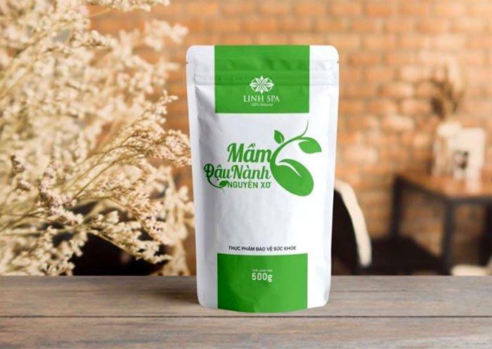 Sử dụng mầm đậu nành nguyên xơ linh Spa cho hiệu quả
