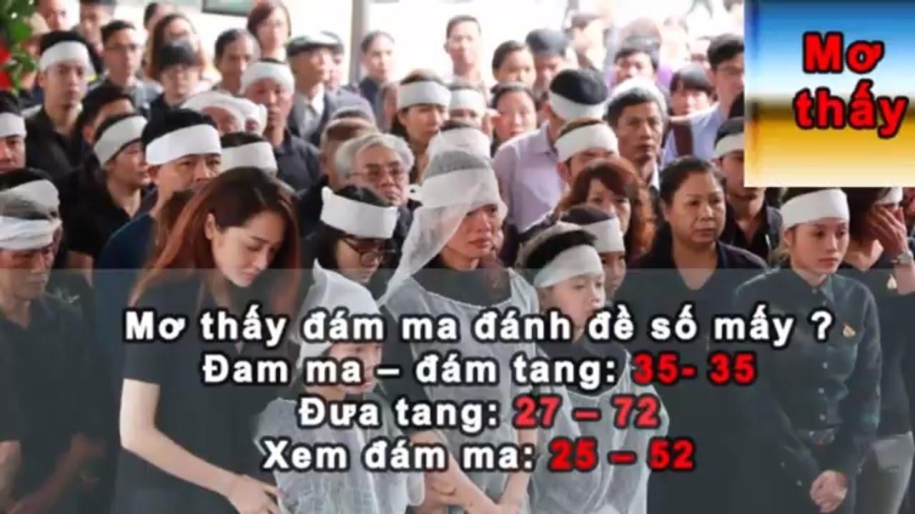 Những con số đề có liên quan đến đám ma bạn nên biết