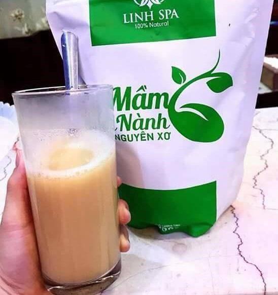 Cách uống mầm đậu nành nguyên xơ Linh spa đúng cách