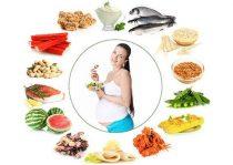chế độ dinh dưỡng cho bà bầu