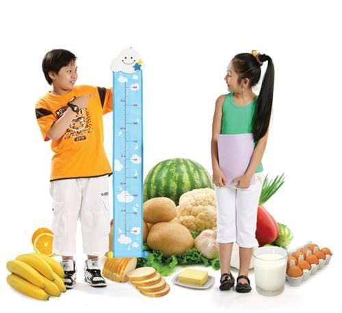 Chế độ ăn uống cũng rất quan trọng vào việc phát triển cân nặng của trẻ