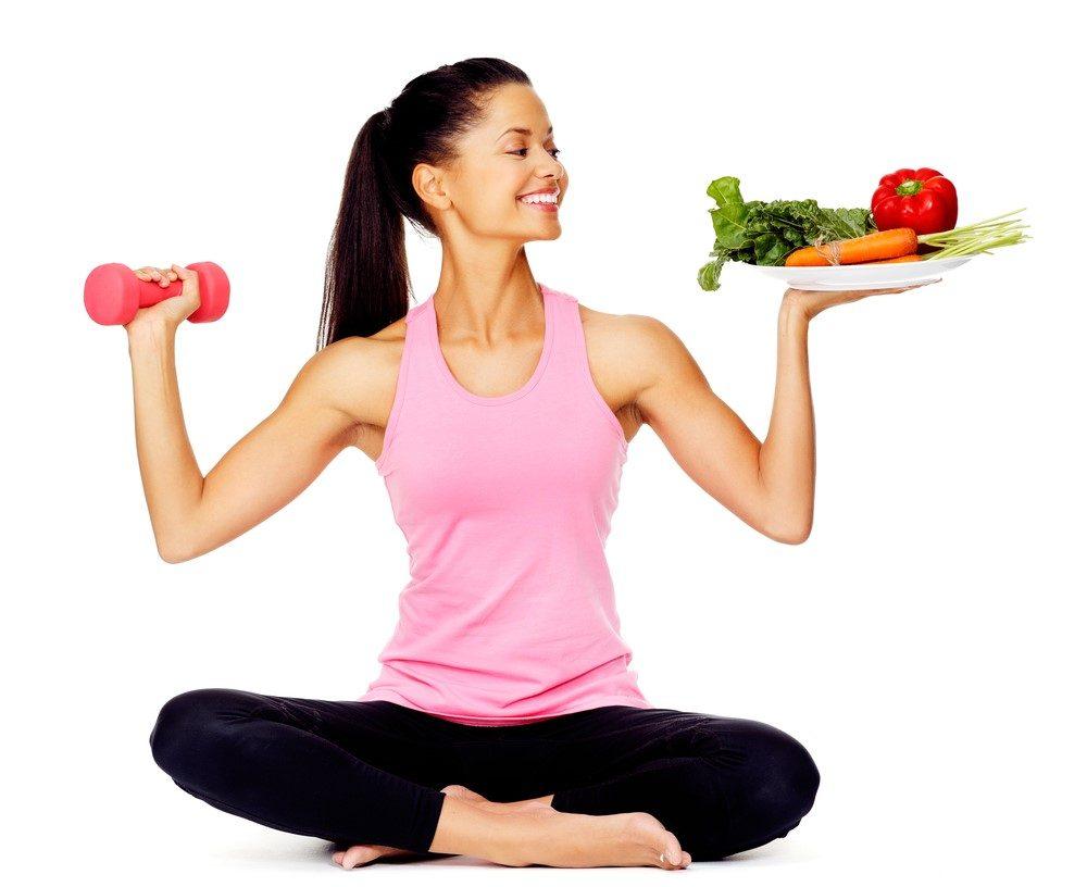 Chế độ ăn uống nên kết hợp với thực đơn giảm cân