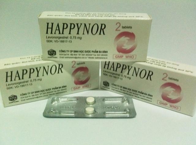 Thuốc tránh thai Happynor