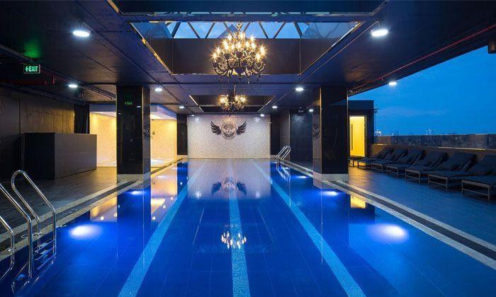 bể bơi california fitness