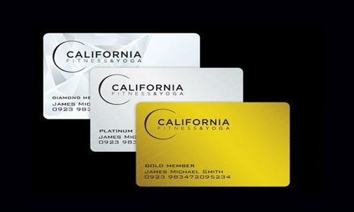 Thẻ Silver California Fitness
